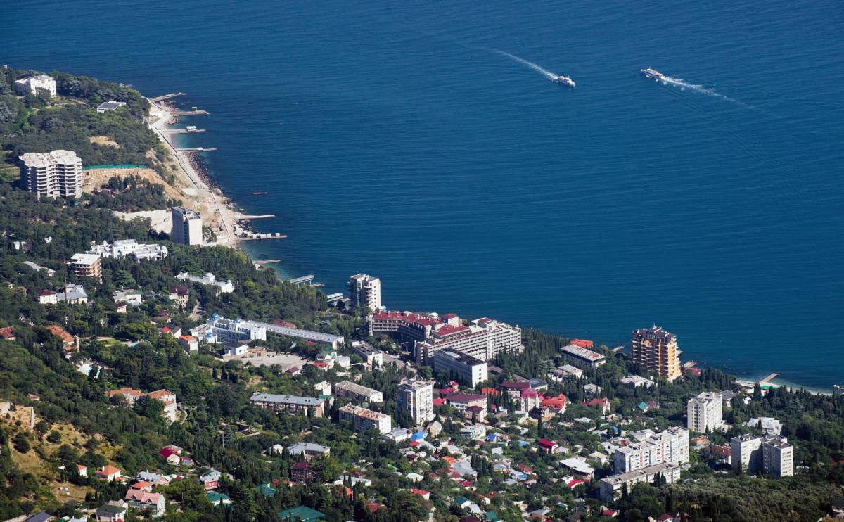 Поселок Мисхор, Крым
