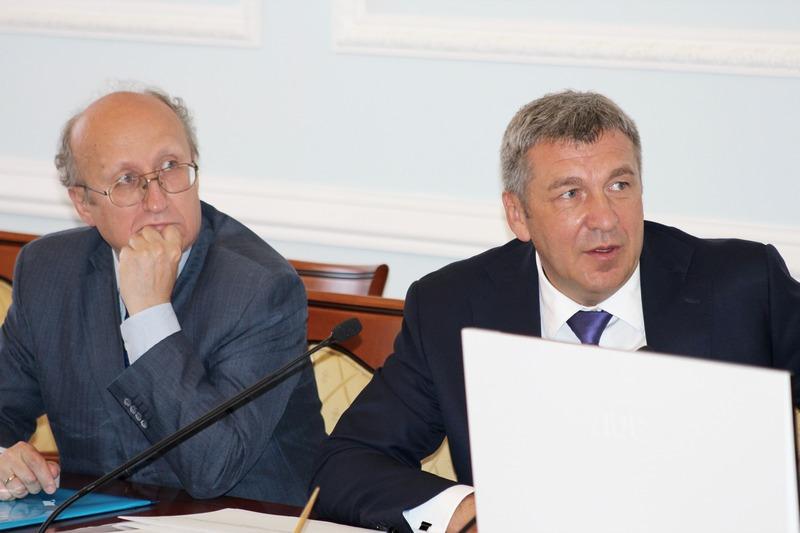 Бывшие вице-губернаторы Петербурга Михаил Мокрецов и Игорь Албин