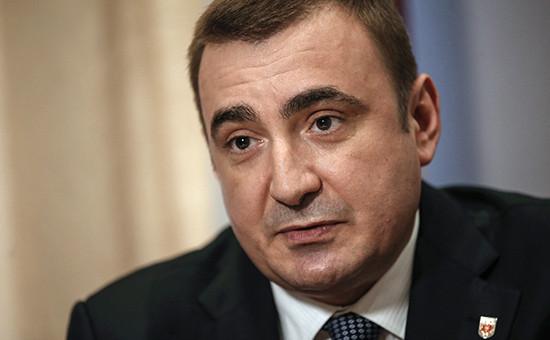 Временно исполняющий обязанности губернатора Тульской области Алексей Дюмин