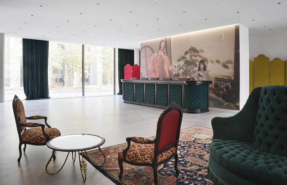 Офисное пространство Gucci Hub в Милане