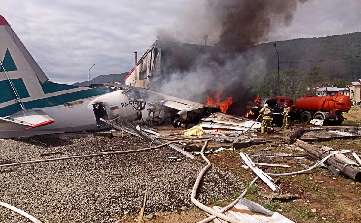 Аварийная посадка Ан-24