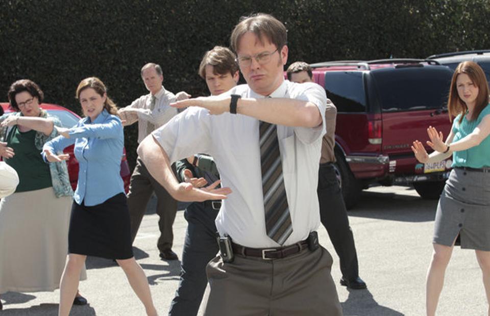 Кадр из сериала «Офис»