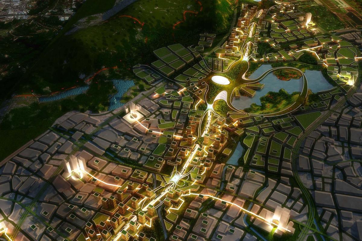Проект городского шоссе G107 в промышленном пригороде Шэньчжэня