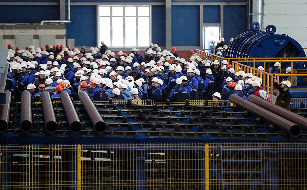Северский трубный завод, входящий в Трубную Металлургическую Компанию