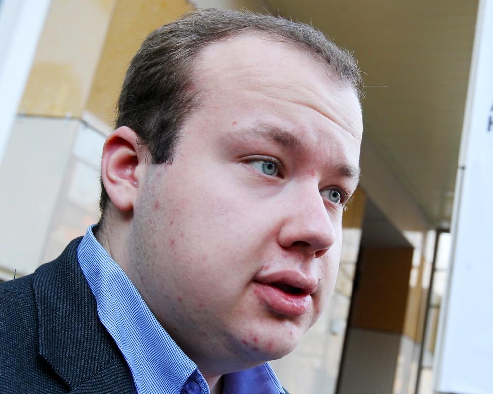 Сподвижник Алексея Навального Георгий Албуров