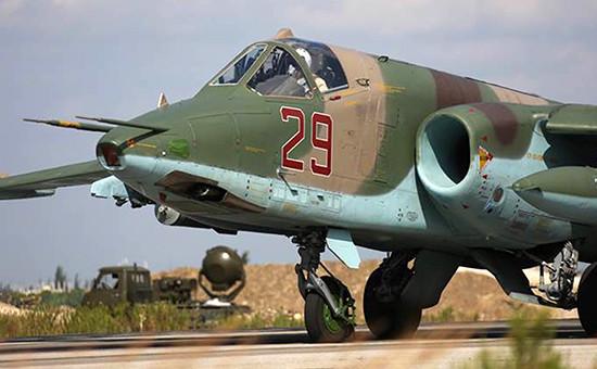 Российская военная авиация наавиабазе ХмеймимвСирии
