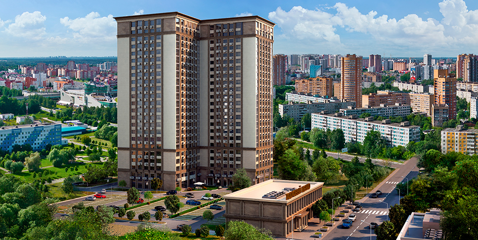 Визуализация жилого дома «Дуэт» вСАО Москвы