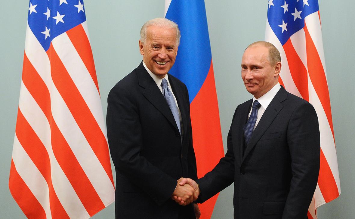 ДжоБайден и Владимир Путин