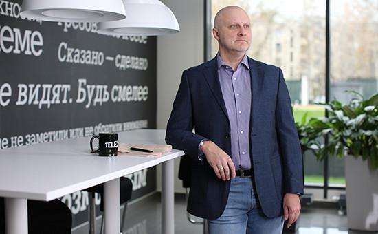 Директор по продажам и развитию дистрибуции Tele2 Александр Смолин