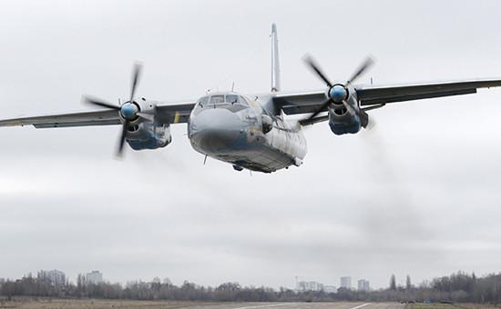 Самолет Ан-26. Март 2016 года