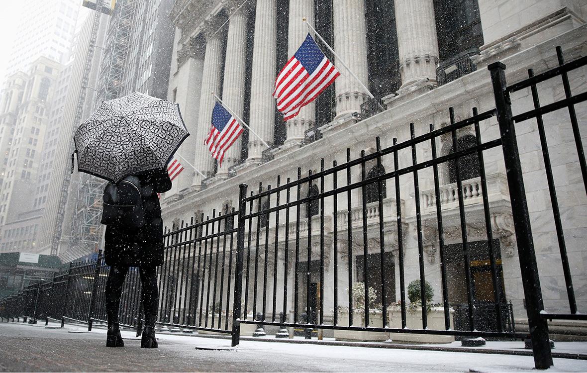 Здание фондовойбиржив Нью-Йорке