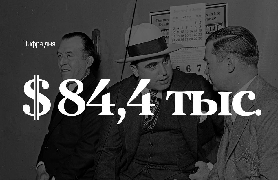 Аль Капоне, 1929 (в центре)