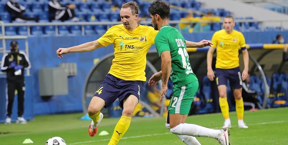 Эпизод матча третьего квалификационного раунда Лиги Европы между «Ростовом» и «Маккаби»