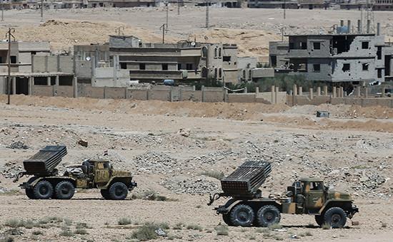 Боевые позиции в Сирии