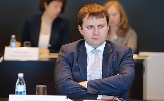 Глава Министерства экономического развития Максим Орешкин