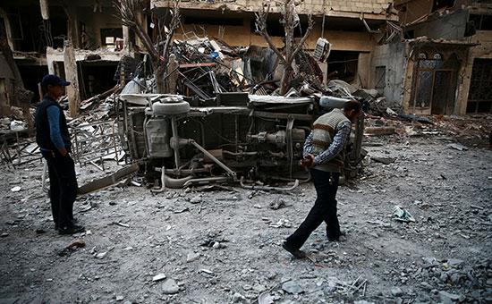 Сирия. Апрель 2017 года