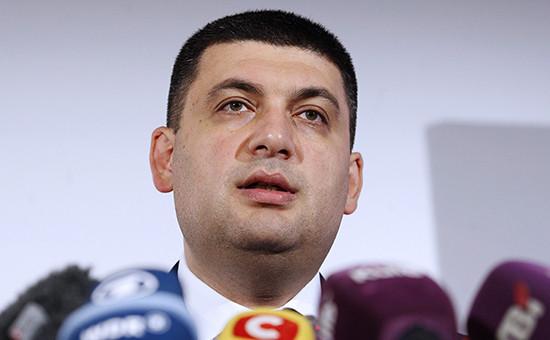 Кандидат в премьеры Украины Владимир Гройсман
