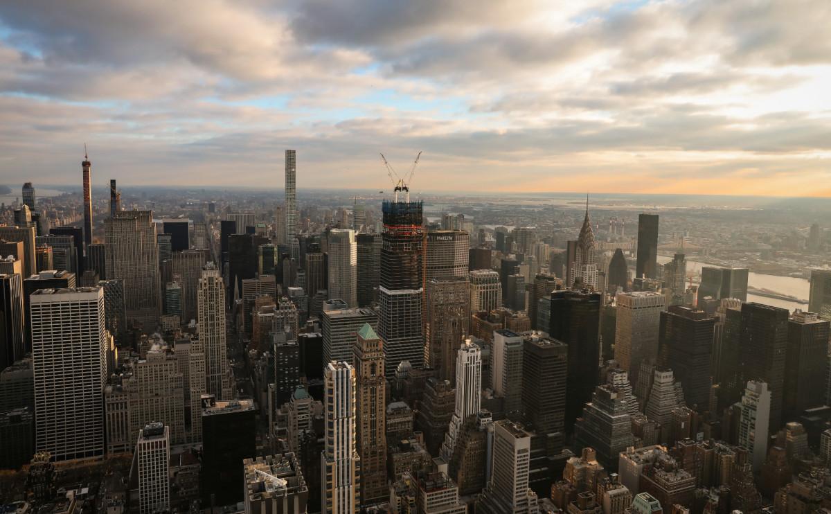 Вид Манхэттена