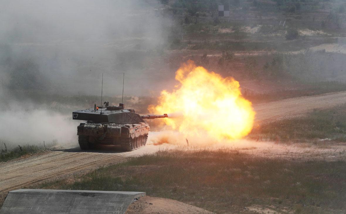 Танк «Челленджер» британской армии