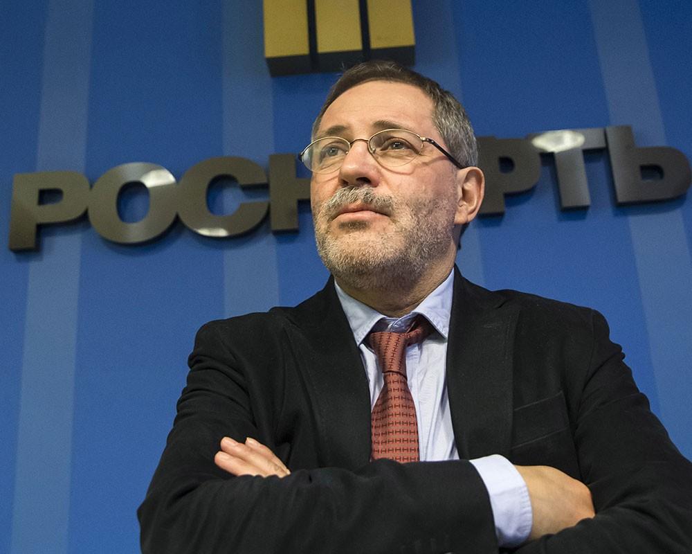 Пресс-секретарь Роснефти Михаил Леонтьев