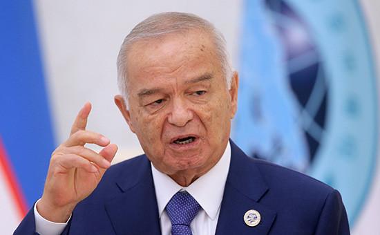 Первый президент Узбекистана Ислам Каримов, 24 июня 2016 года