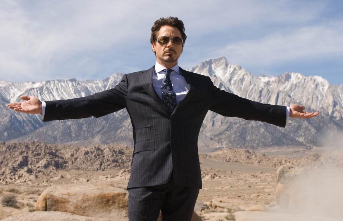 Кадр из фильма«Железный человек»
