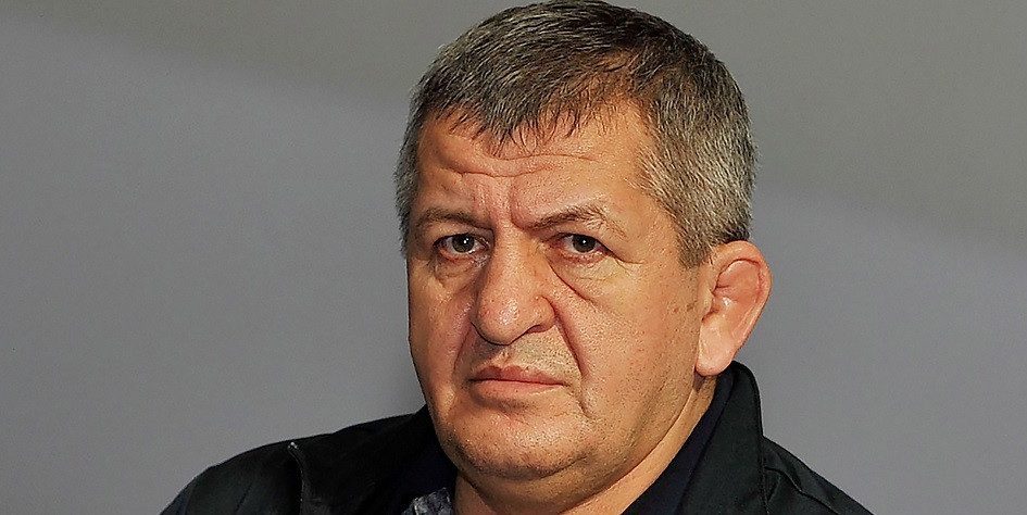 Отец и тренер Хабиба Нурмагомедова Абдулманап Нурмагомедов