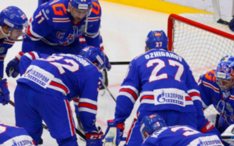 Фото: Хоккеисты СКА (Фото: Global Look Press)
