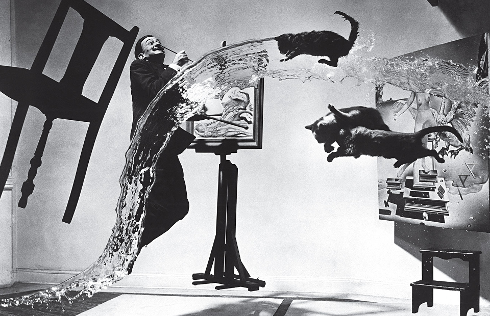 Филипп Халсман. «Дали анатомикус», 1948