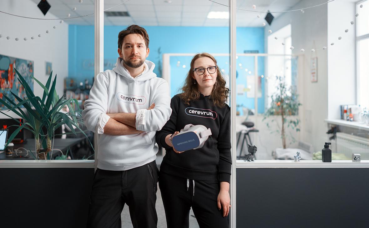 Наташа Флокси и технический директор Олег Радченко