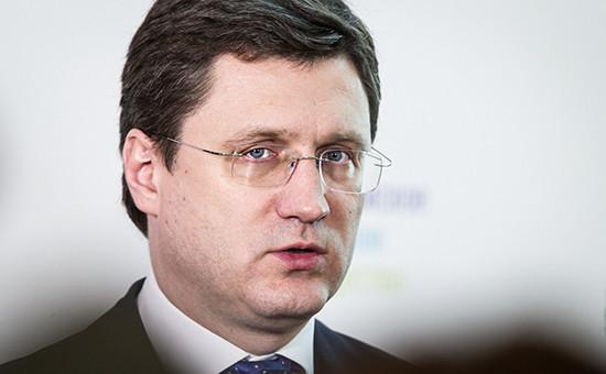 Глава российского Минэнерго Александр Новак