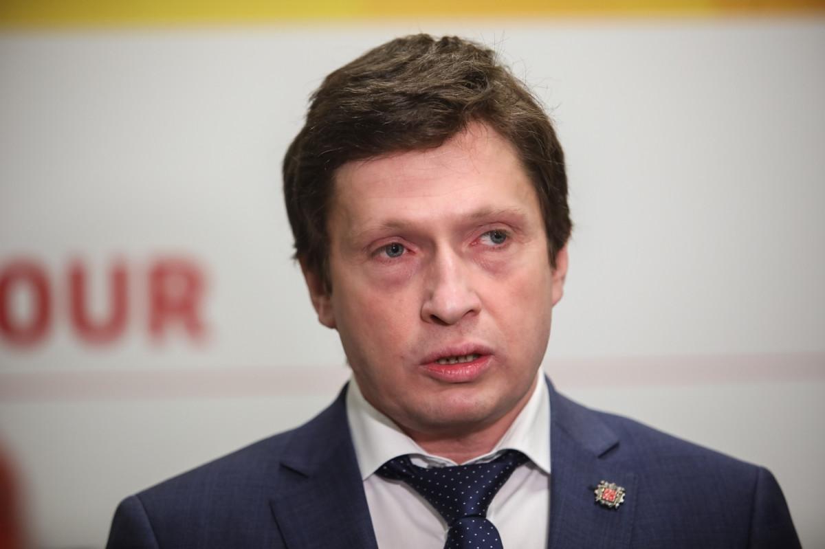Председатель Комитета по промышленной политике и инновациям Смольного Кирилл Соловейчик