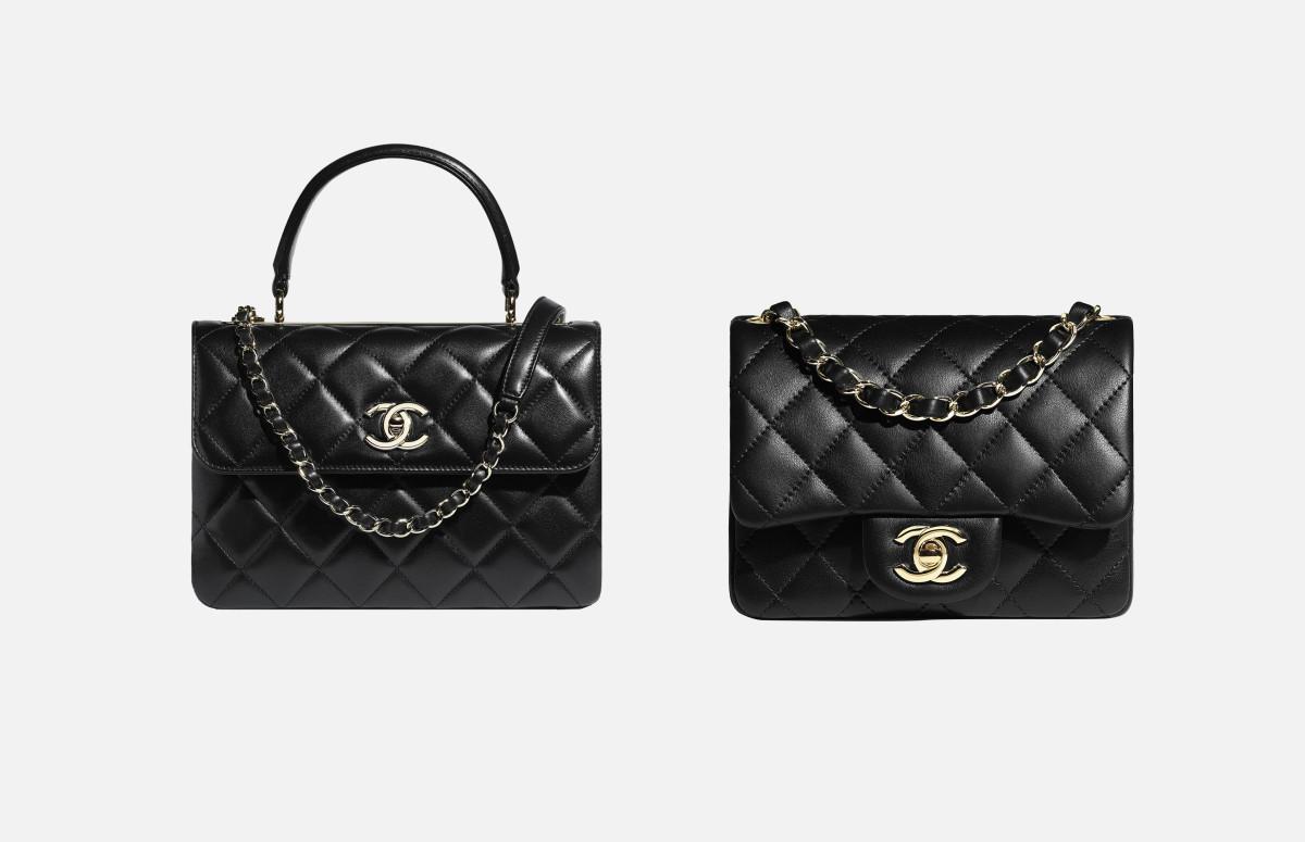 Сумки Coco Handle иChanel Classic Flap Bag