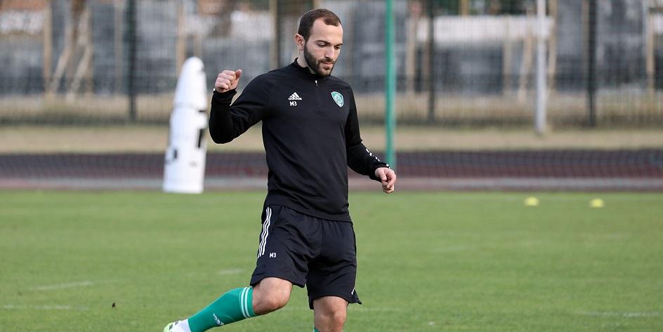 Выступающий за «Ахмат» нападающий Георгий Мелкадзе