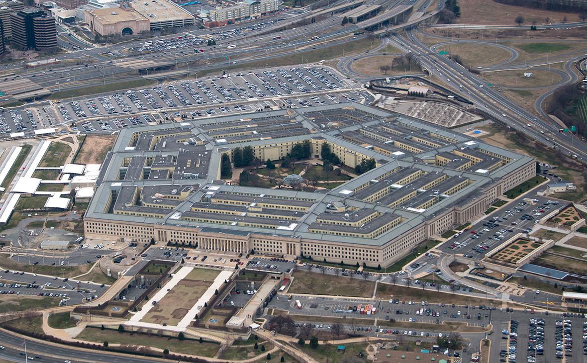 Вид на зданиеПентагона