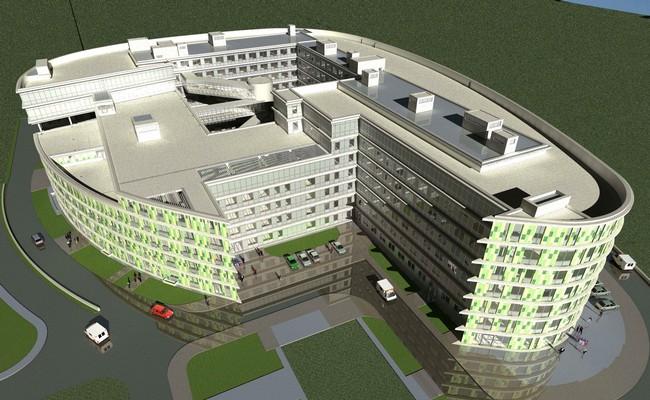 Проектперинатально-кардиологического центра на территории больницы №67 вМоскве
