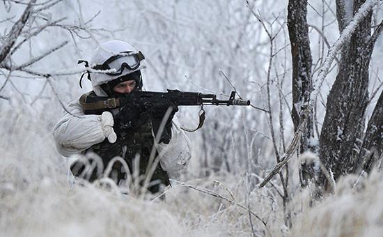 Полевые учения российских военнослужащих