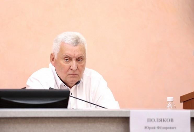мэр города Юрий Поляков