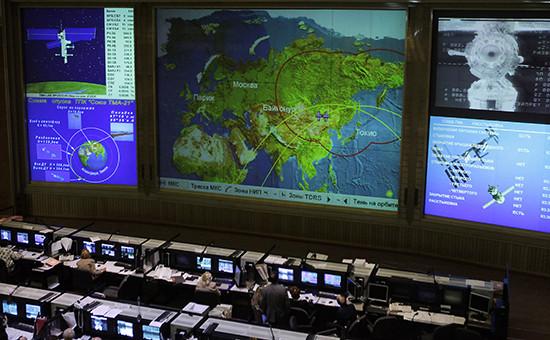 Центр управления полетами (архивное фото)