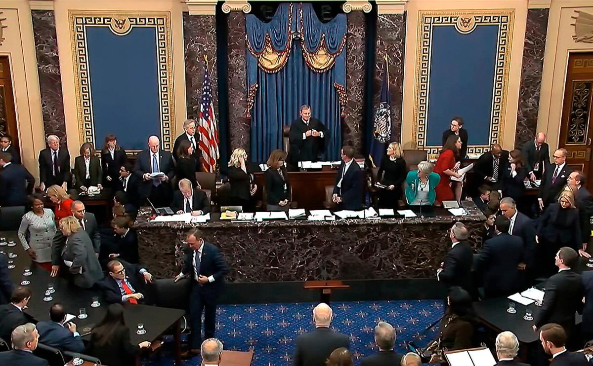 Фото: Senate Television / AP