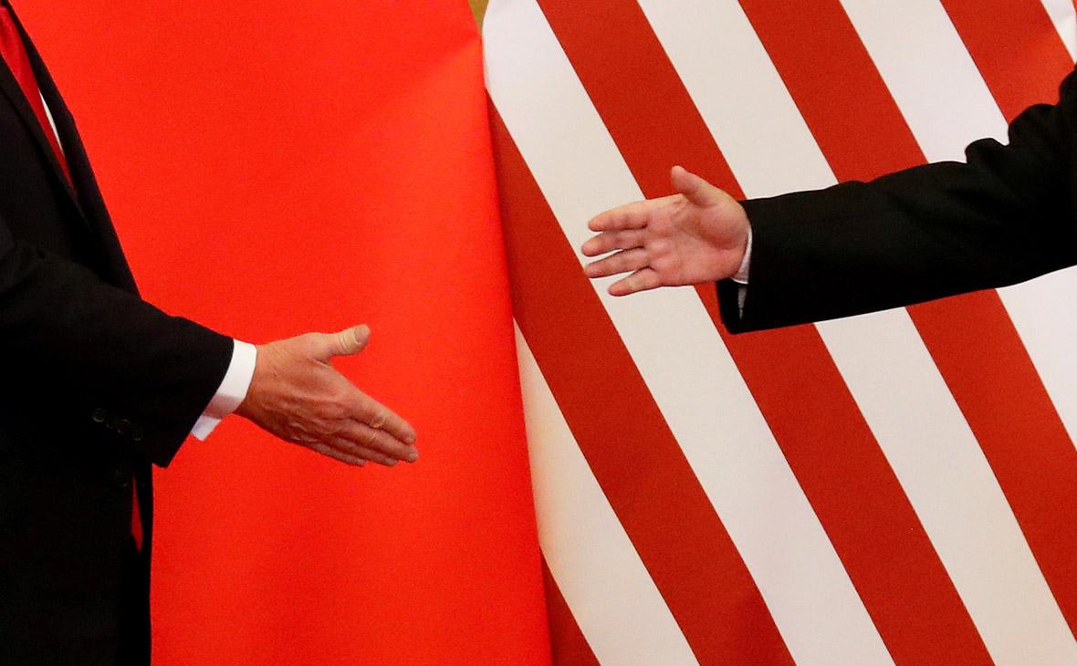 Лидеры Китая и СШАСи Цзиньпин и Дональд Трамп. Ноябрь 2017 года