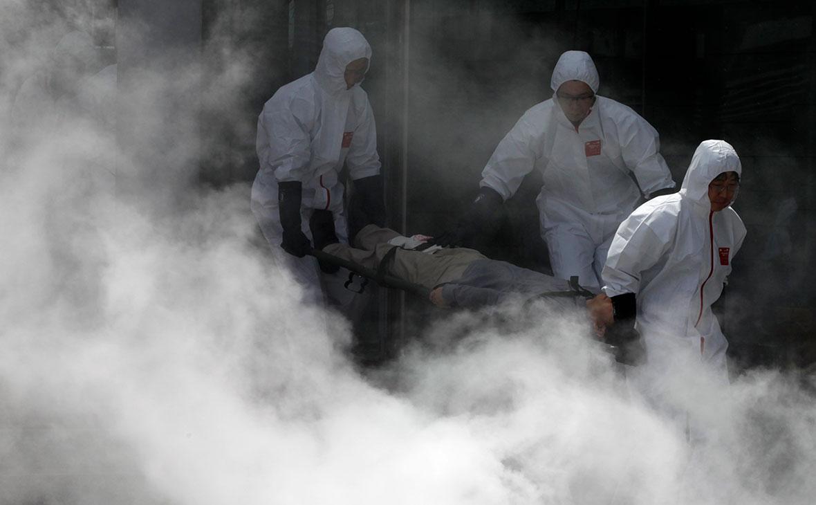Южнокорейские пожарные. 2011 год