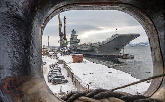 Российский тяжелый авианесущий крейсер «Адмирал Кузнецов»