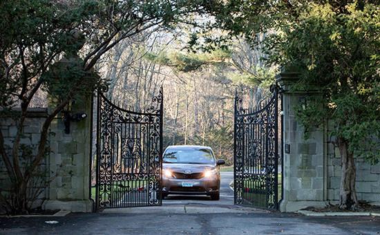 Ворота усадьбы Килленворт в Глен-Коуве, США