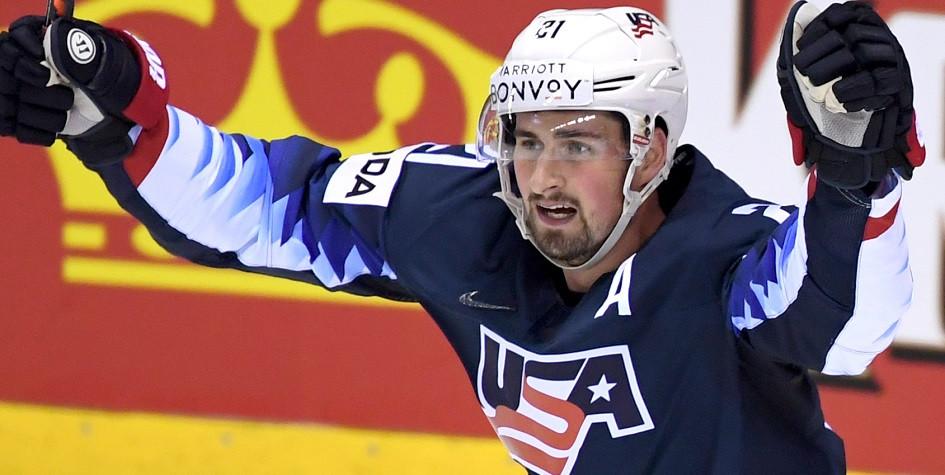 Нападающий сборной США Дилан Ларкин