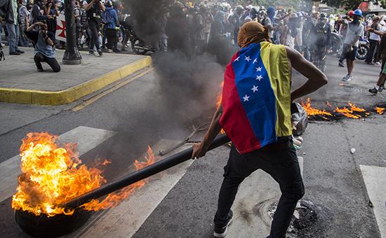 Антиправительственные протесты в Венесуэле