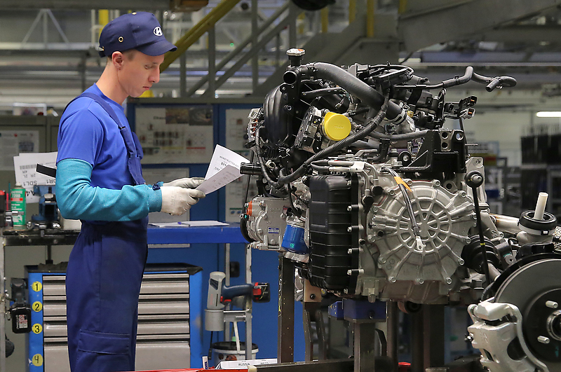 Завод компании «Хендэ Мотор Мануфактуринг Рус»
