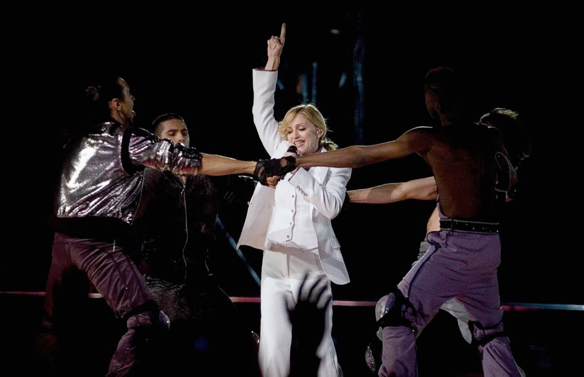 Первый концерт Мадонны в Москве, 2006 год
