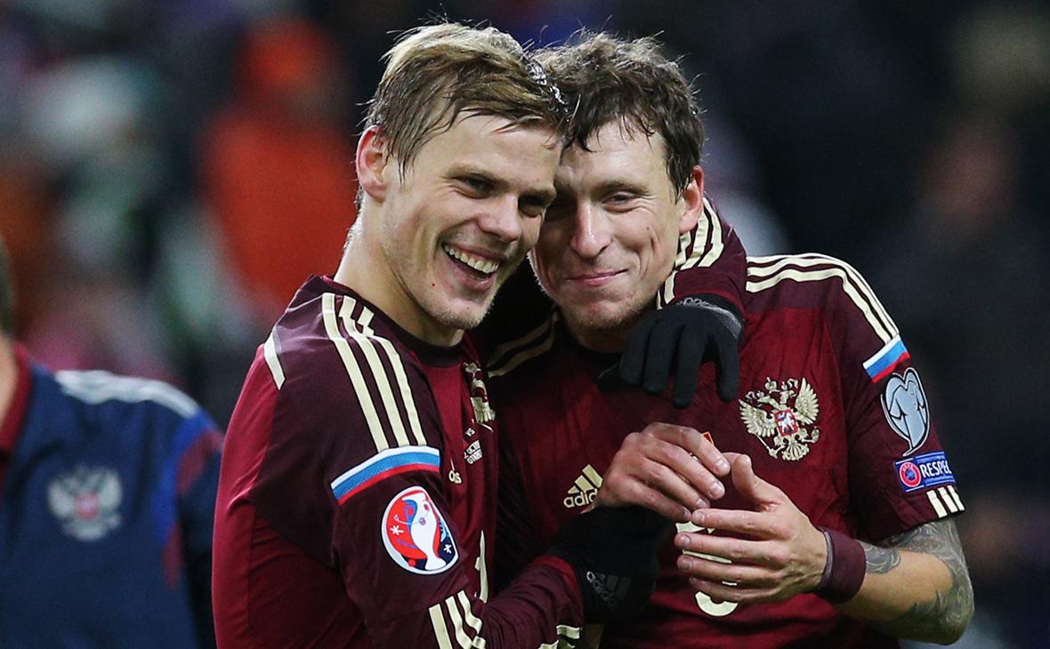 Александр Кокорин (слева) и Павел Мамаев