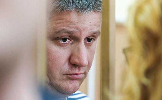Экс-глава «РусГидро» Евгений Дод вБасманном суде, июнь 2016 года